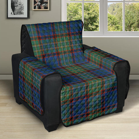 Image of Nicolson Hunting Ancient Tartan Recliner Sofa Protector | Tartan Home Set