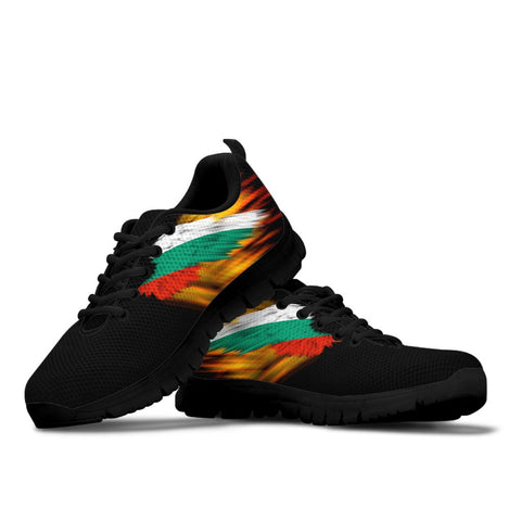 Bulgaria Sneakers - Fire Wings and Flag | LOVE THE WORLD