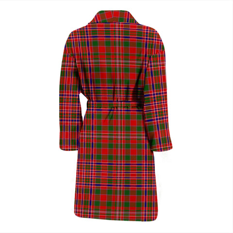 Image of Macalister Modern Bathrobe - Men Tartan Plaid Bathrobe Universal Fit