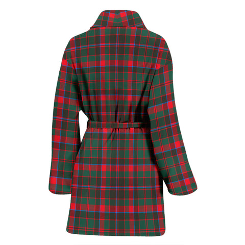 Cumming Hunting Modern Bathrobe - Women Tartan Plaid Bathrobe Universal Fit