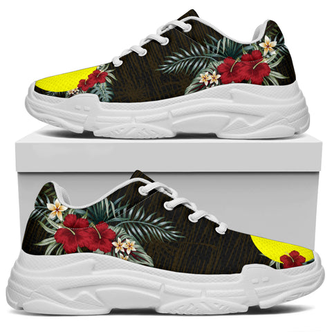 Image of Palau Hibiscus (Men/Women) Chunky Sneakers A7