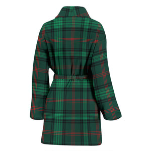 Ross Hunting Modern Tartan Women's Bath Robe - BN03
