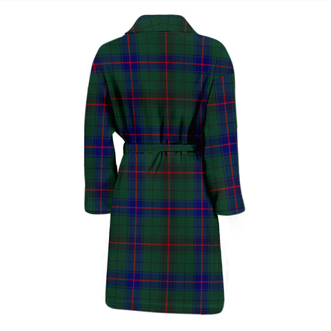 Image of Davidson Modern Tartan Men's Bathrobe - Bn04