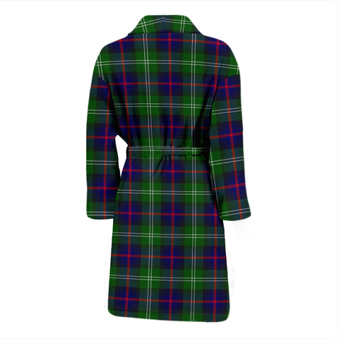 Sutherland Modern Bathrobe - Men Tartan Plaid Bathrobe Universal Fit