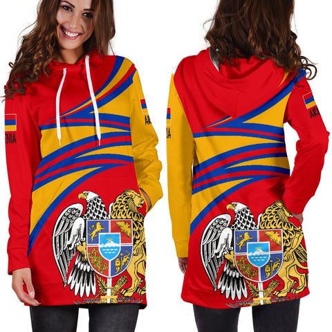 Image of Armenia Hoodie Dress A15