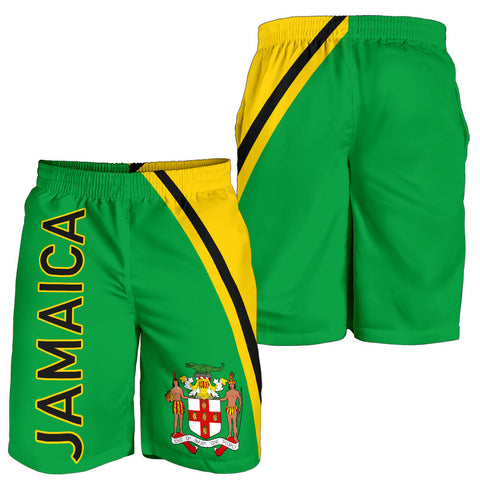 Image of Jamaica Men's Short - Curve Version - BN04