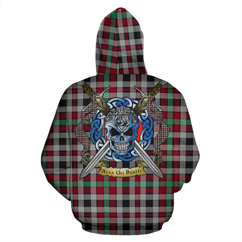 Borthwick Ancient Tartan Hoodie Celtic Scottish Warrior A79 | Over 500 Tartans | Clothing | Apaprel