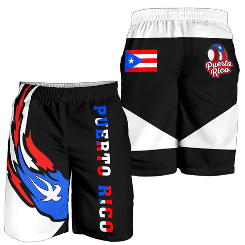 Puerto Rico Baseball Team Men's Shorts - Version 2 - J6