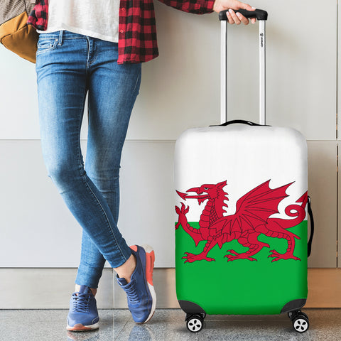 WALES FLAG LUGGAGE COVER A4