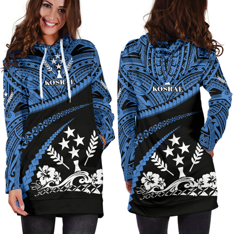 Kosrae Women Hoodie Dress - Road to Hometown K4