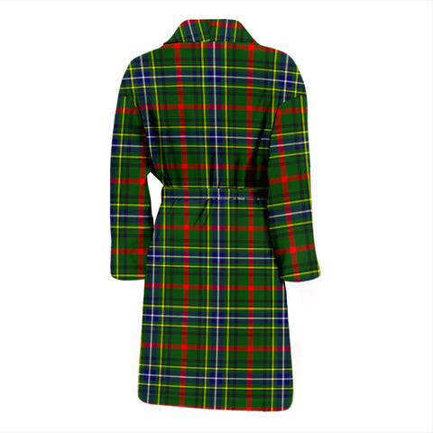 Bisset Tartan Men's Bath Robe