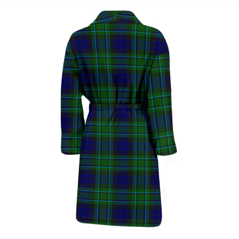 Maccallum Modern Tartan Men's Bathrobe - Bn04
