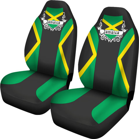 Jamaica Car Seat Cover - Jamaican Flag - Car Seat Covers - Jamaican Color