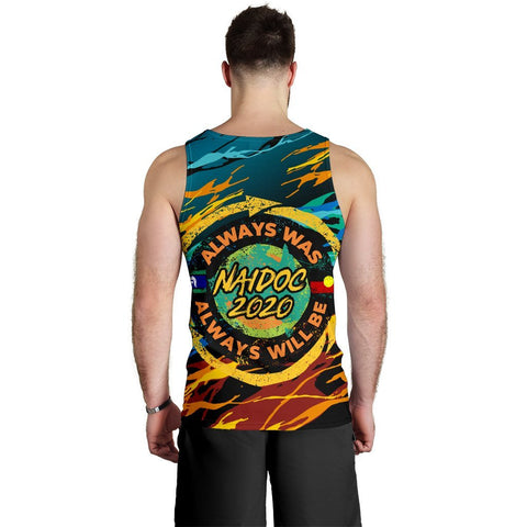 Image of Australia Men's Tank Top - Naidoc Always Was, Always Will Be - BN17