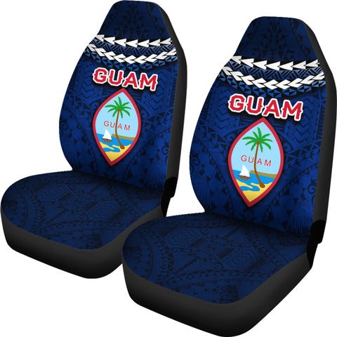 Guam Polynesian Car Seat Covers - Vibes Version K8