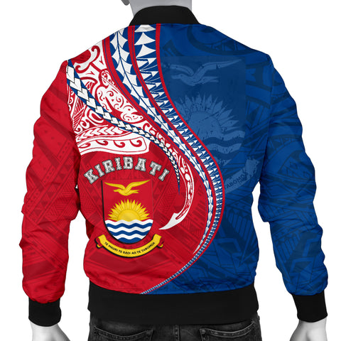 Image of Kiribati Men's Bomber Jacket Kanaloa Tatau Gen KI TH65