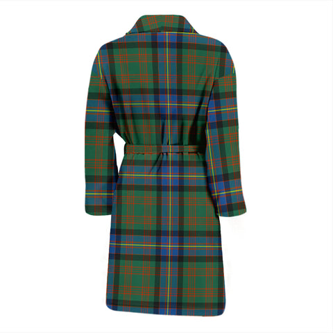 Cochrane Ancient Bathrobe - Men Tartan Plaid Bathrobe Universal Fit