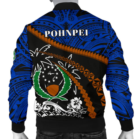 Pohnpei Men Bomber Jacket - Road to Hometown K4