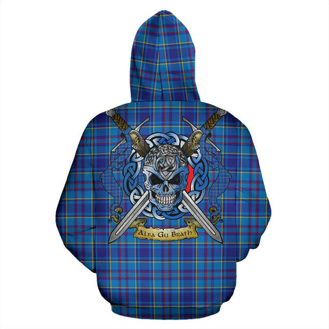 Mercer Modern Tartan Hoodie Celtic Scottish Warrior A79 | Over 500 Tartans | Clothing | Apaprel