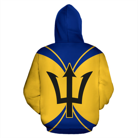 Barbados, All Over Hoodie, Barbados Hoodie, hoodie