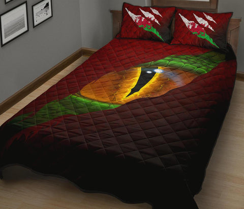 Welsh Quilt Bed Set - Dragon Eyes | Love The World