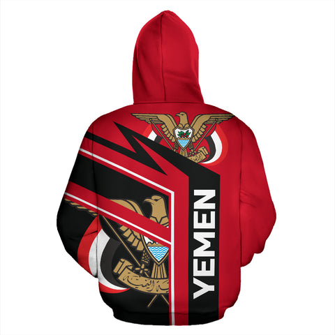 Image of Yemen Air Zip-Up Hoodie TH0