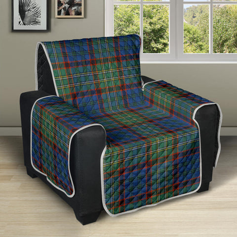 Nicolson Hunting Ancient Tartan Recliner Sofa Protector | Tartan Home Set