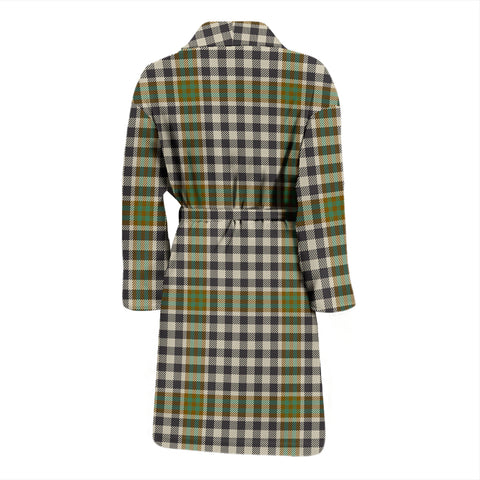 Burns Check Tartan Men's Bathrobe - BN04
