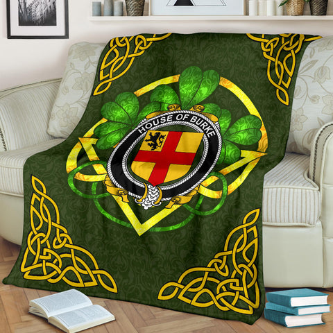 Burke Ireland Premium Blanket | Home Set | Special Custom Design