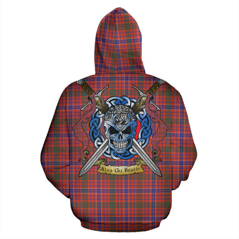 MacRae Ancient Tartan Hoodie Celtic Scottish Warrior A79 | Over 500 Tartans | Clothing | Apaprel