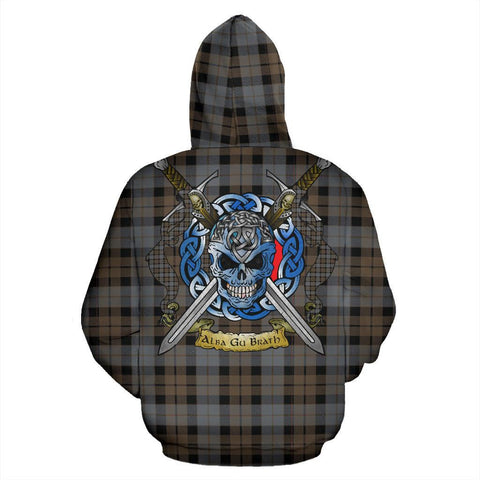 MacKay Weathered Tartan Hoodie Celtic Scottish Warrior A79 | Over 500 Tartans | Clothing | Apaprel