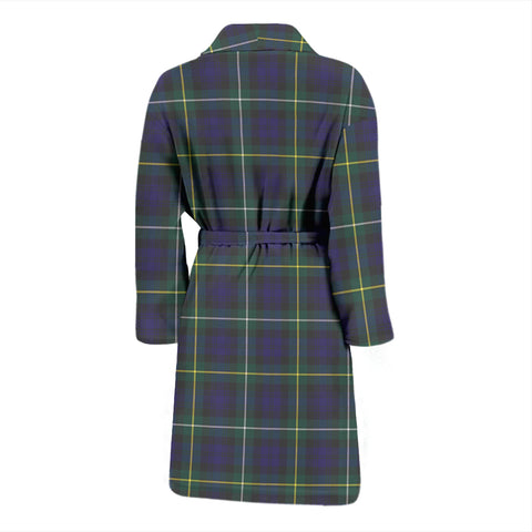 Campbell Argyll Modern Bathrobe - Men Tartan Plaid Bathrobe Universal Fit