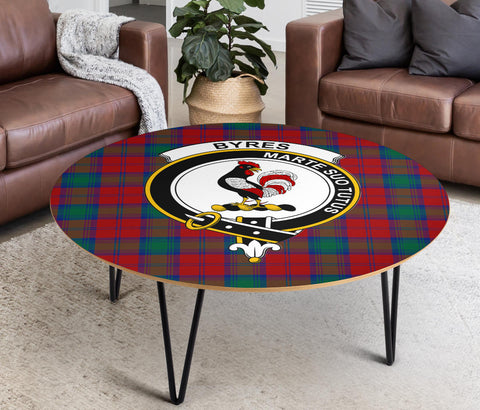 Byres Clans Cofee Table BN