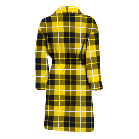 Image of Barclay Dress Modern Bathrobe - Men Tartan Plaid Bathrobe Universal Fit