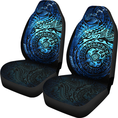 Polynesian Tattoo Style Car Seat Covers | High Quality | 1sttheworld