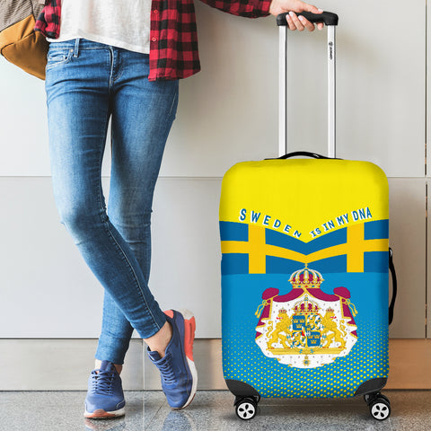 Image of Sweden Victory Luggage Covers K6