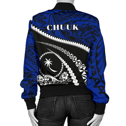 Chuuk Women Bomber Jacket - Road to Hometown K4