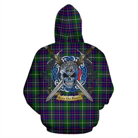 Inglis Modern Tartan Hoodie Celtic Scottish Warrior A79 | Over 500 Tartans | Clothing | Apaprel
