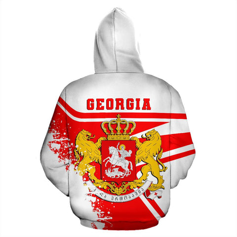 Image of Georgia Hoodie Painting Style Th52