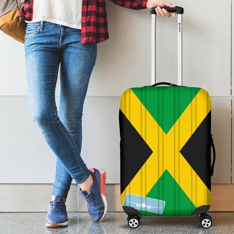 Image of Jamaica Flag Luggage Covers H4 | Love The World