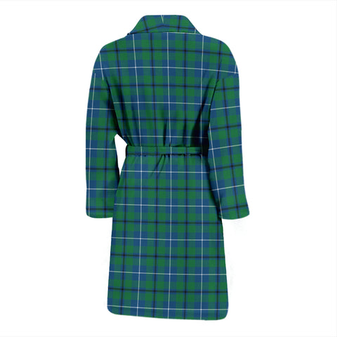 Douglas Ancient Bathrobe - Men Tartan Plaid Bathrobe Universal Fit