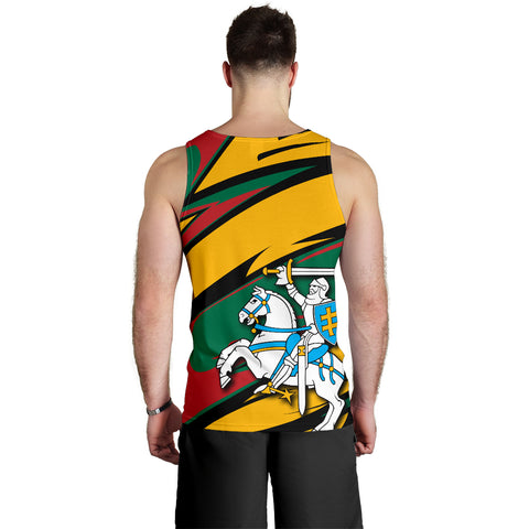 Lithuania Knight Forces Tank Top - Lode Style