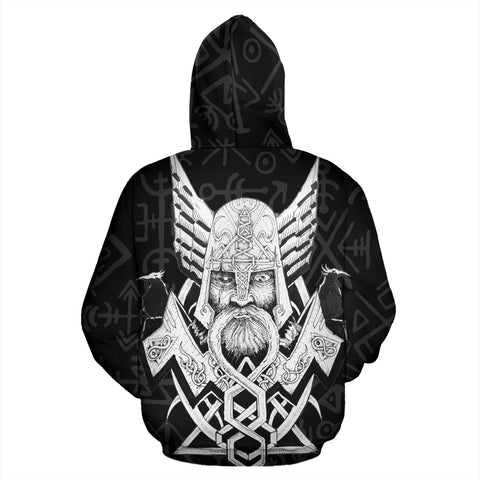 Viking Hoodie - Odin Hugin Munin™ by 1sttheworld For Men And Women