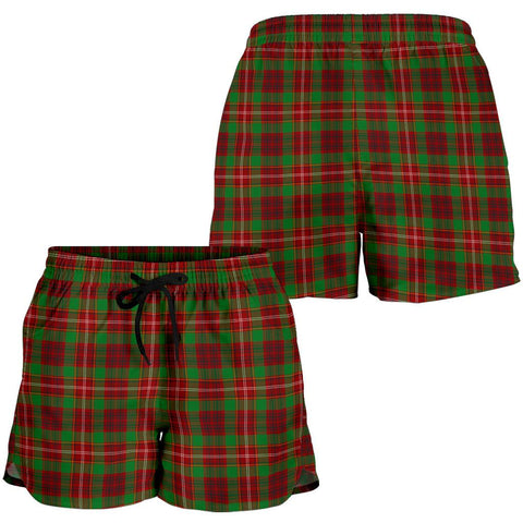 Ainslie Tartan Shorts For Women TH8