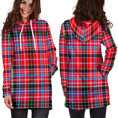 Aberdeen District Tartan Hoodie Dress HJ4 |Women's Clothing| 1sttheworld