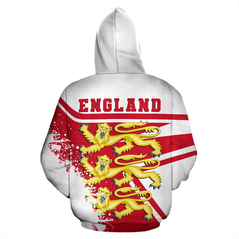 Image of England royal Hoodie Painting Style Th52