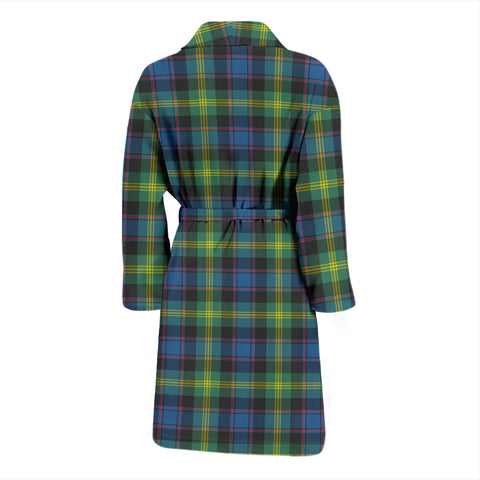 Watson Ancient Tartan Men's Bathrobe - BN04