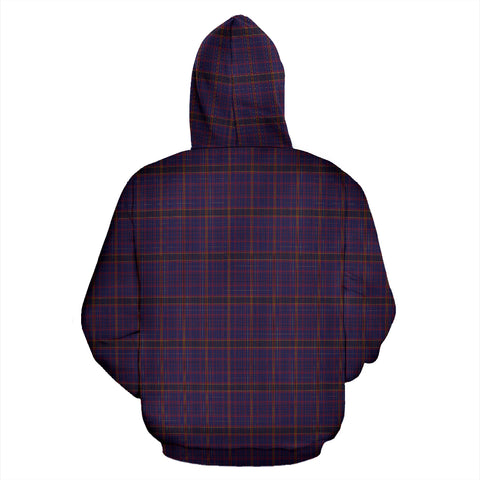 James of Wales Tartan Hoodie A8