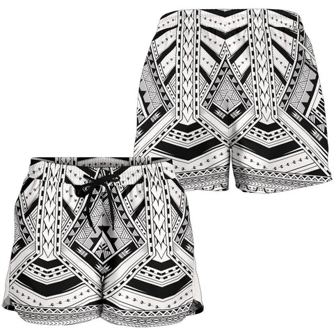 Polynesian All Over Print Women's Shorts