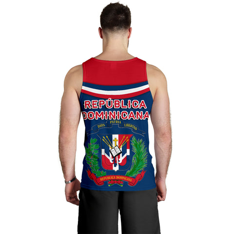 Image of Dominican Republic Men Tank Top - Vibes Version K8